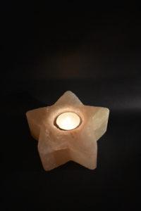 Teelicht - Stern 2