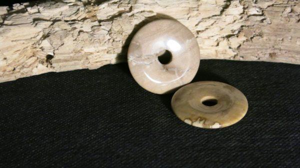 Anhaenger Donut - FossilesHolz 1